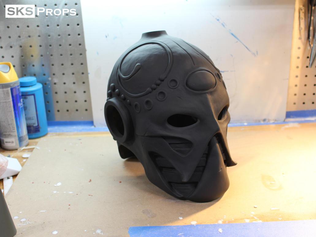 Frazetta Death Dealer Helmet WIP 13 SKS Props by SKSProps