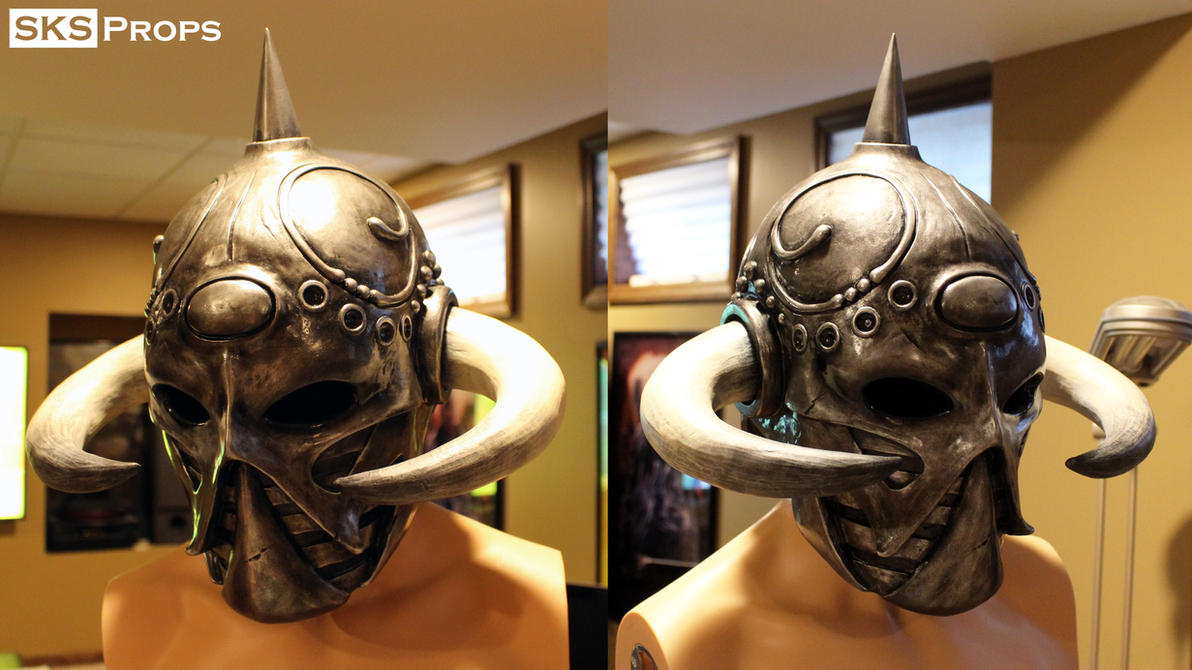Frazetta Death Dealer Helmet WIP 16 SKS Props by SKSProps