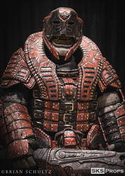 Gears of War Theron Guard Cosplay SKS Props