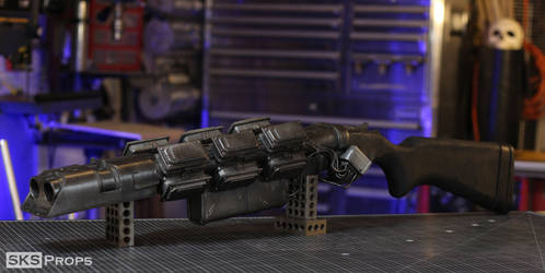 Cyberpunk 2077 Tech Shotgun Cosplay Weapon by SKSProps