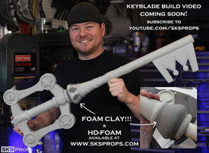 Keyblade from Kingdom Hearts 3 by SKS Props