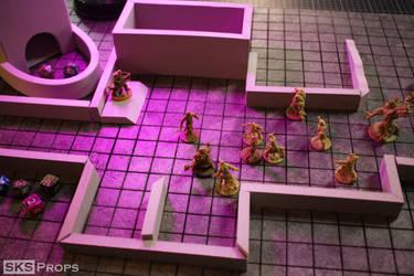 Dungeons and Dragons EVA Foam Battle Mat DIY Video