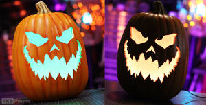 How to Carve, Paint, and Light a Foam Pumpkin