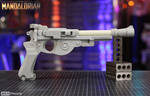 Mandalorian Blaster Eva Foam WIP SKS Props