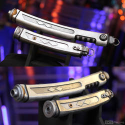 Ahsoka Tano's Lightsaber Hilts out of Foam