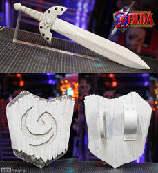 Legend of Zelda Kokiri Sword and Deku Shield
