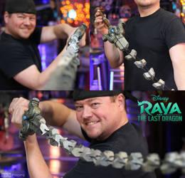 Raya and the Last Dragon Cosplay Whip Sword