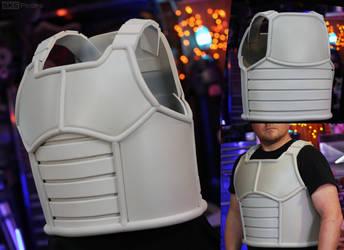 DBZ Vegeta Saiyan Armor WIP