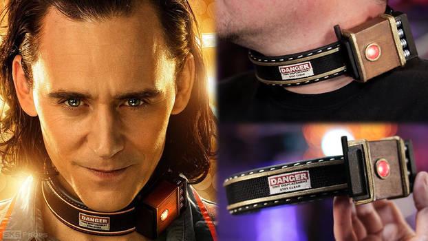 Loki Time Twister Displacement Collar - Cosplay