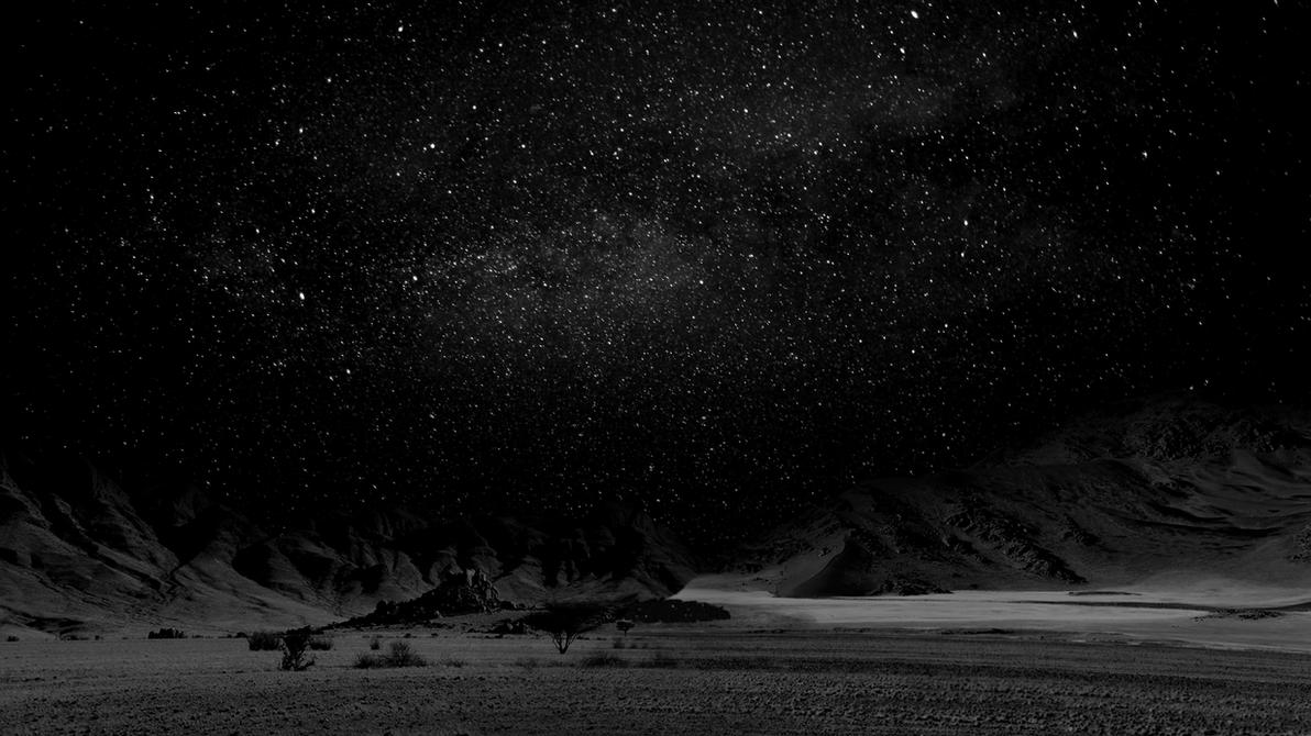 Dark Desert Night by ExistenceSD on DeviantArt