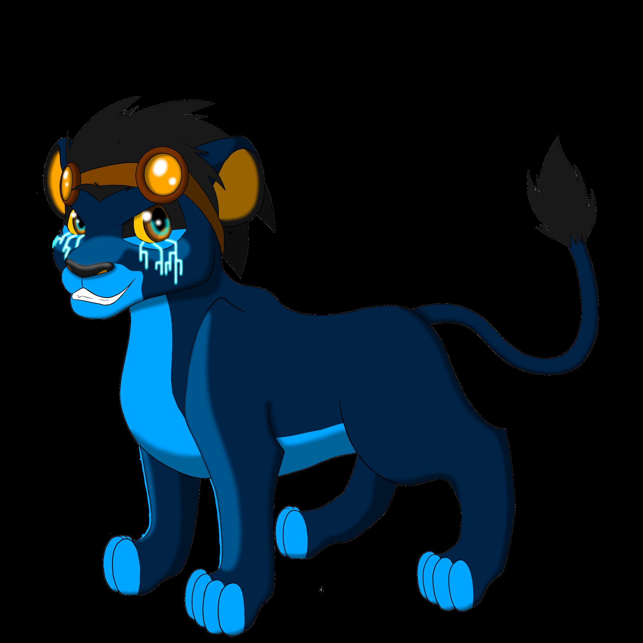 generator rex lion cub by xfoxblaze fan art digital art drawings ...