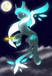 Starfall the star pony by F0XBLAZE