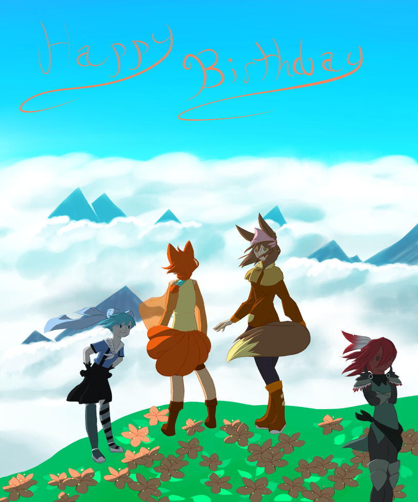 Happy Birthday Team Firefox by xFoxblaze