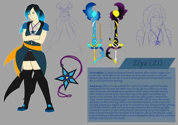Ziya new ref by F0XBLAZE