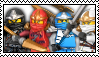 Ninjago stamp 2 by P-K-S-S