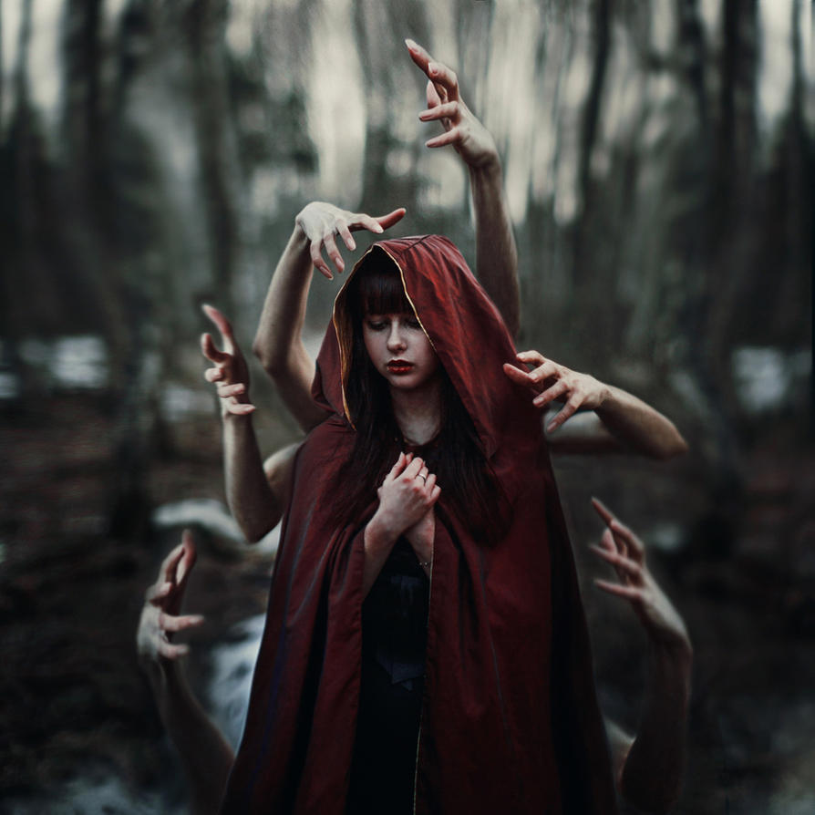 Little Red Riding Hood By Shi Nya