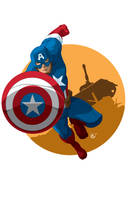 Captain America by universe-K