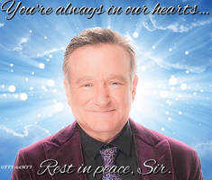 Rest in peace, Robin Williams! by 77tiger77