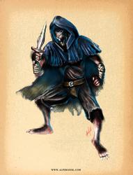 Wererat monster character design