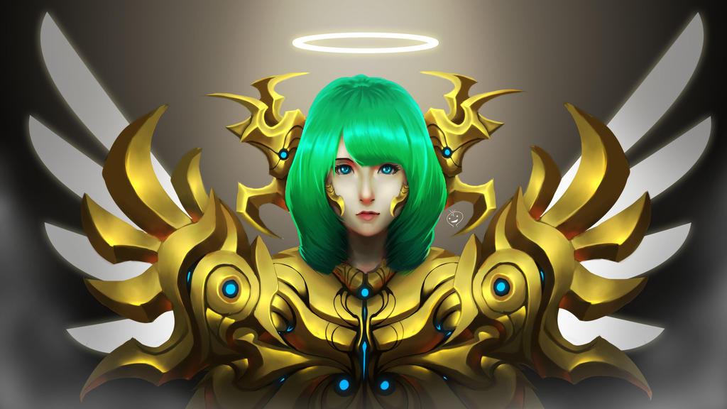 Gold Angel by heryhotaru