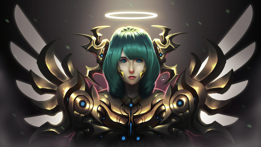 Gold Angel Revision by heryhotaru
