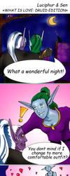 Druid Love Story by lyciphur