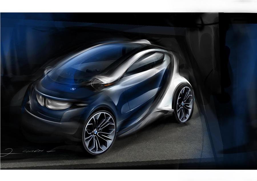 Final design BMW ISetta by Qvaka