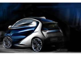 Final design BMW ISetta2 by Qvaka