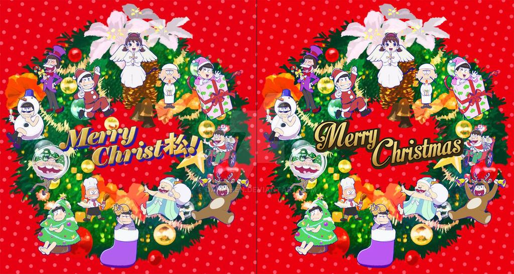 Osomatsu-san Christmas Poster English Version by danichen on ...