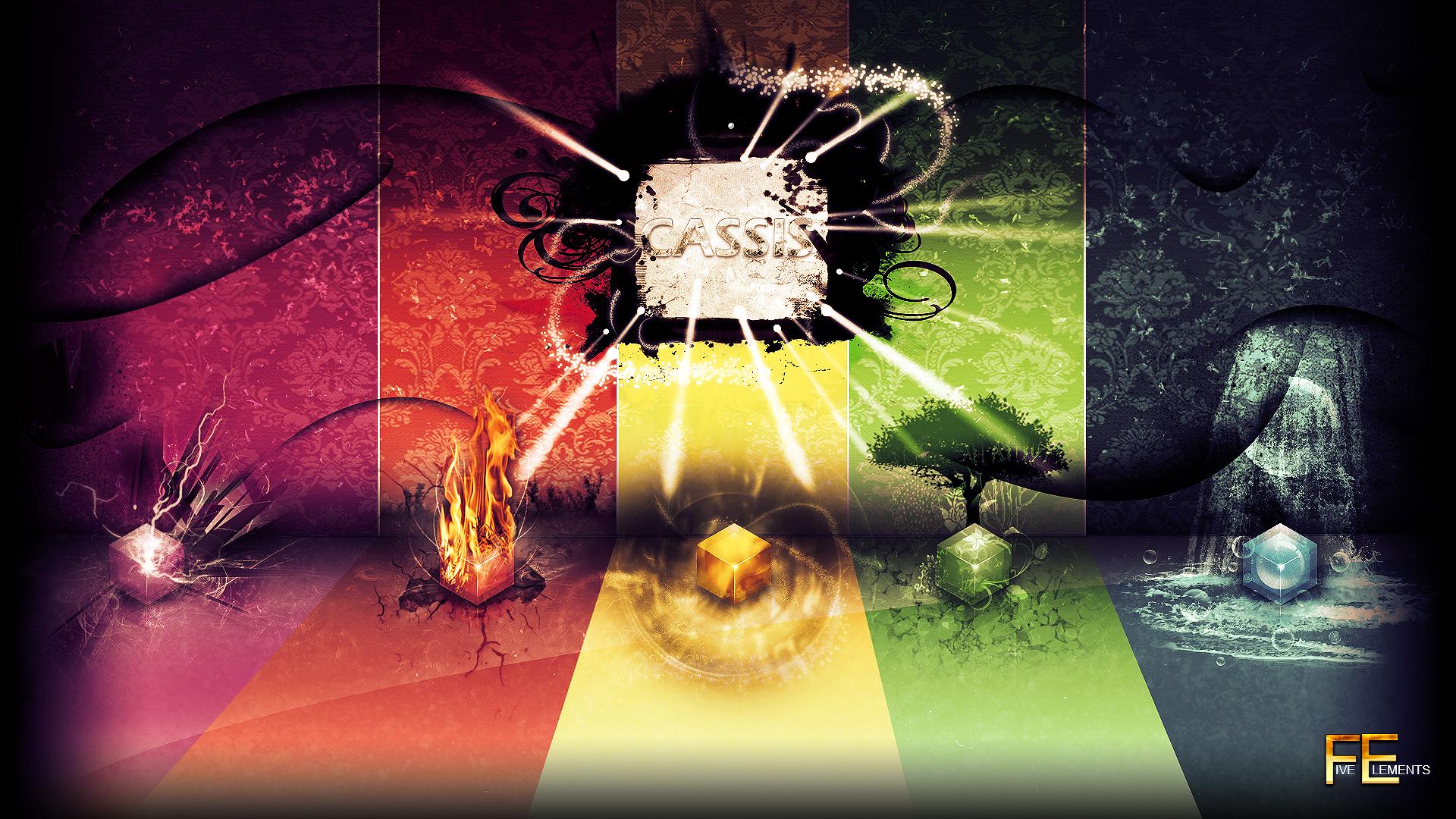 Five Elements Art : Cassis wallapper five elements by petit on deviantart