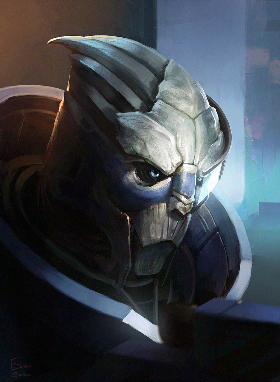Garrus Vakarian by Catic