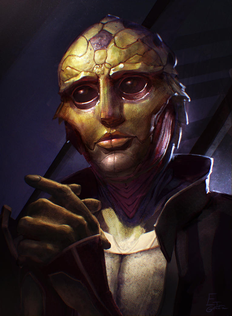 Thane Krios by Catic