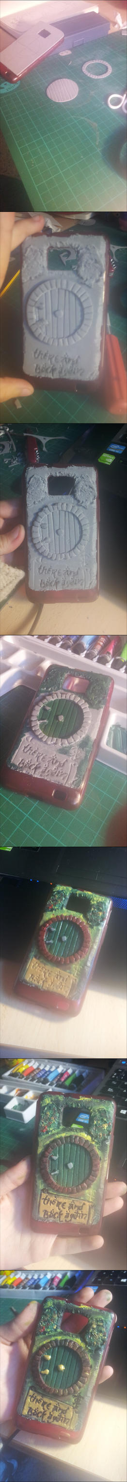 Phone Case Tutorial [The Hobbit] by nanaloid
