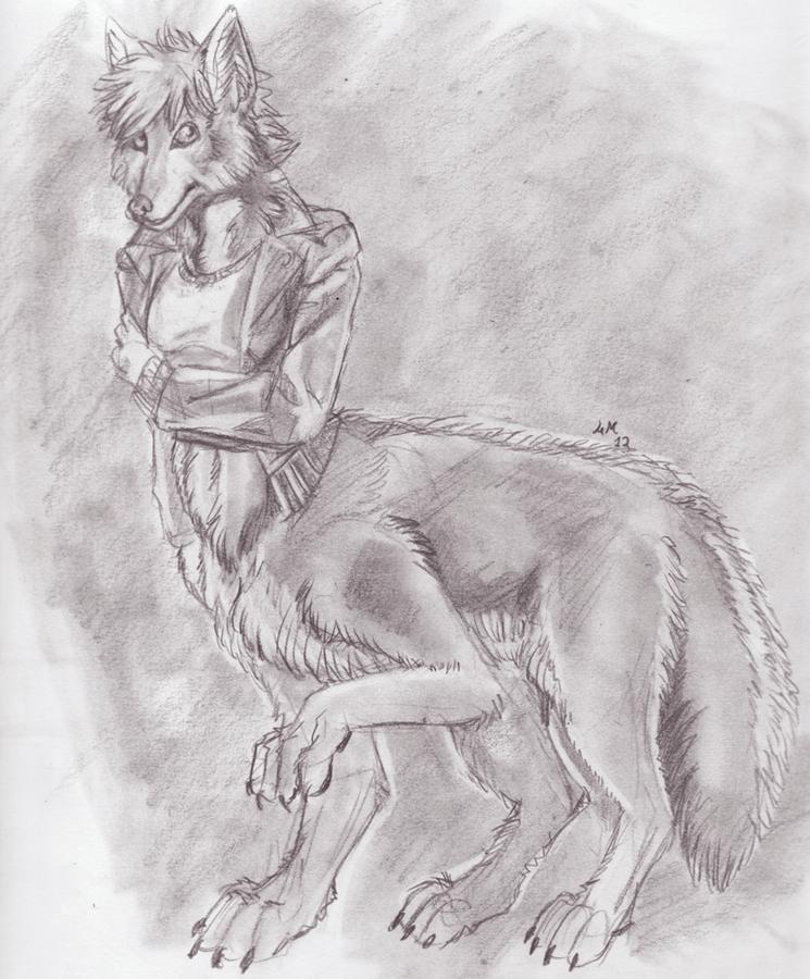 15$ Sketchcom-Wolftaur by Fringecrow on DeviantArt