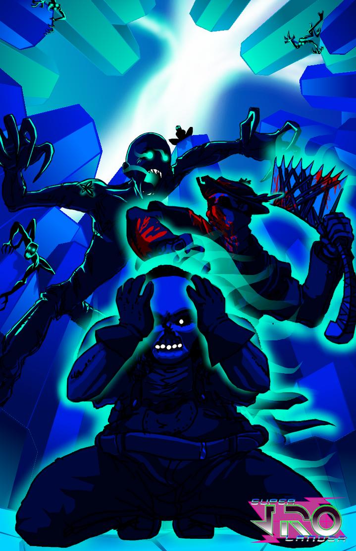 the Psycho vs the Hunter by superJROlander