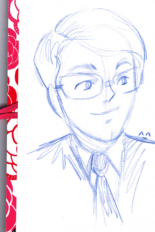 Kawaii Stephen Merchant by ChibiCelina