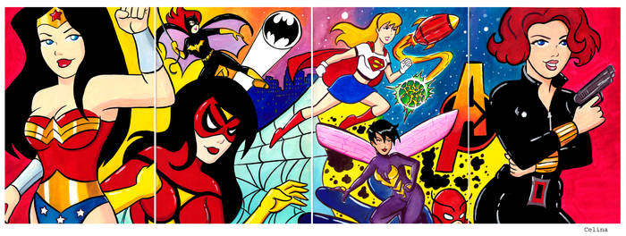 Women in Comics Mural