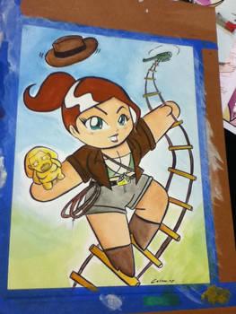 Lady Indiana Jones