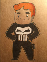 Archie as The Punisher by ChibiCelina