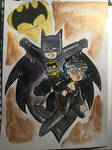 Batman Plus Catwoman
