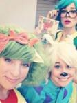Rocko's Gender Blender Cosplayers (SAY WHAT?!) by xandermartin98
