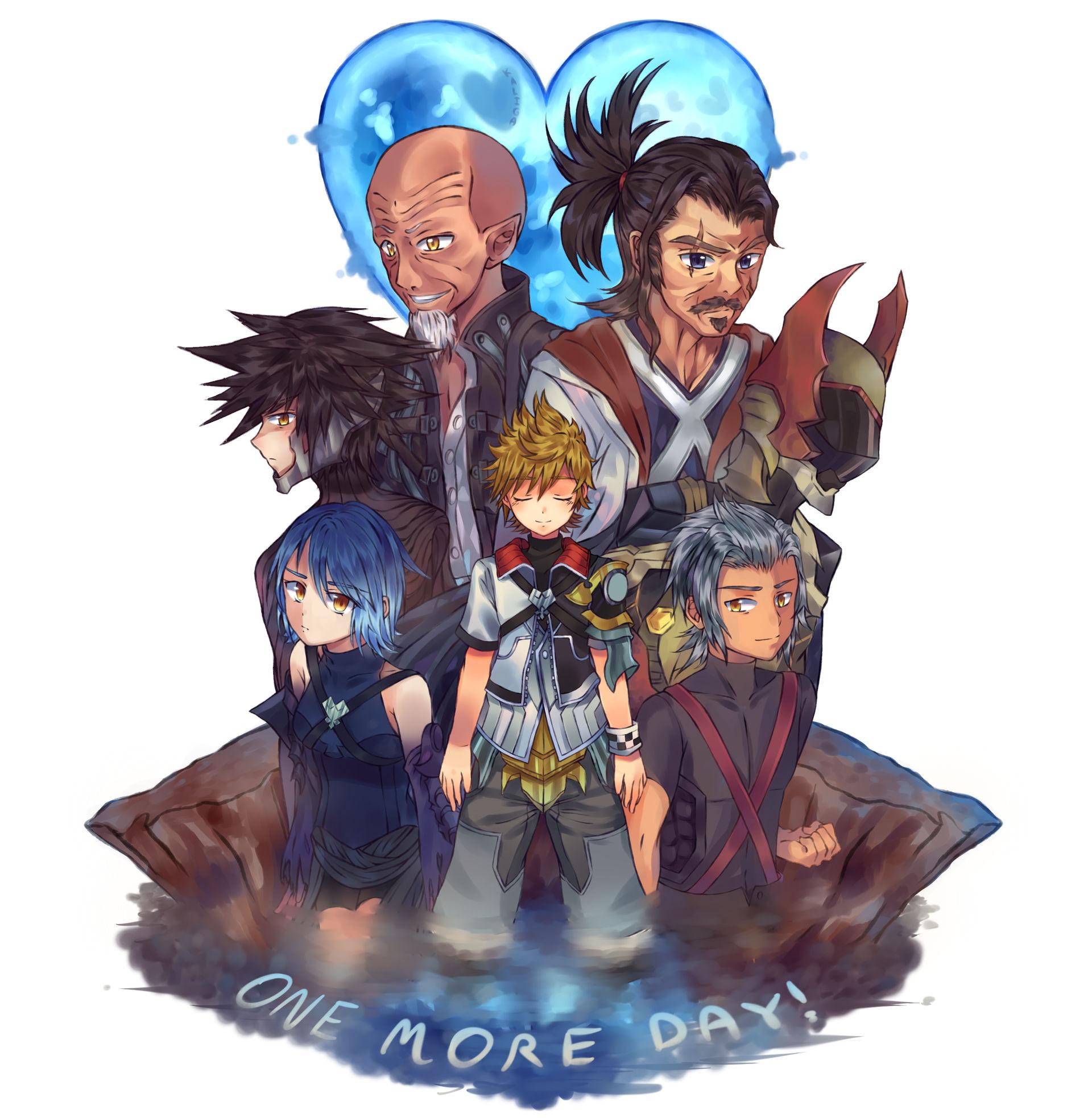 Kingdom Manga Next Release: Kingdom Hearts 3 Countdown By Kaliga On DeviantArt