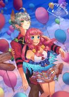 G - Happy Birthday Namie by Kaliga