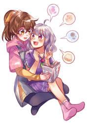 Haruka and Ayu