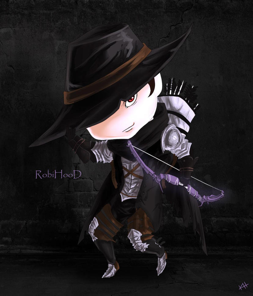 Vindictus - RobiHooD [Chibi Commission] by kapiheartlilly