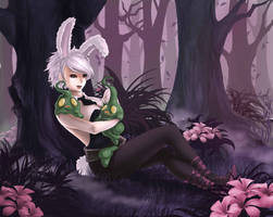 League of Legends - Riven and Zac [Commission] by eollynart