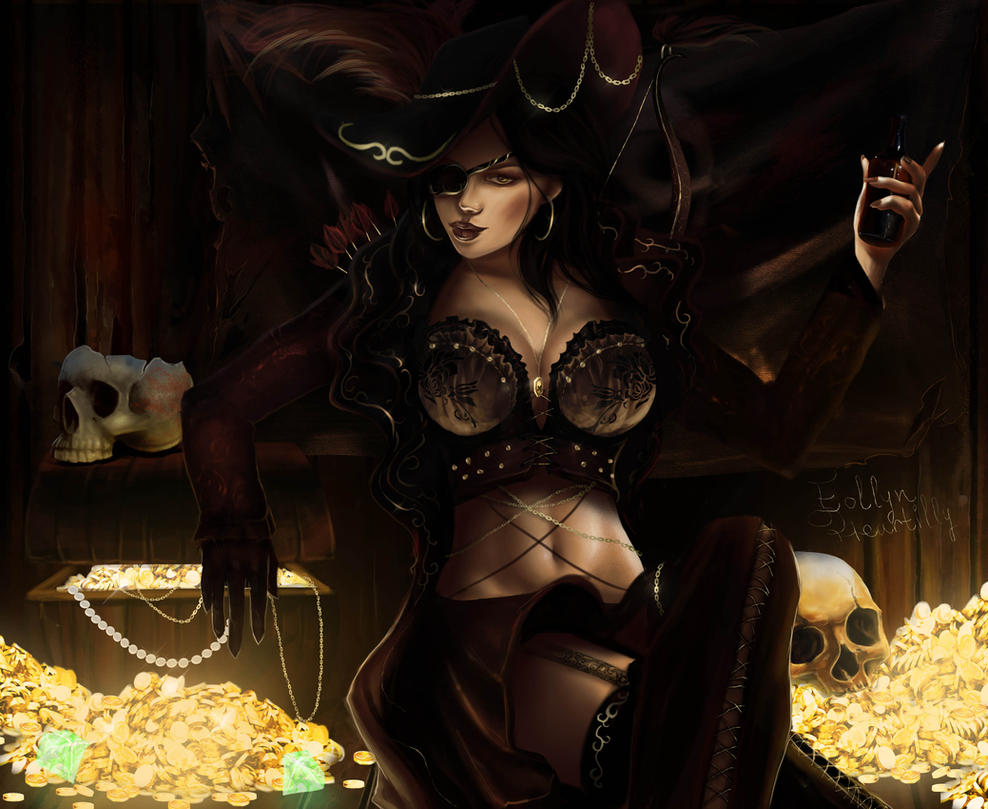 Black Desert Online - Pirate Fanart Contest Entry. by kapiheartlilly