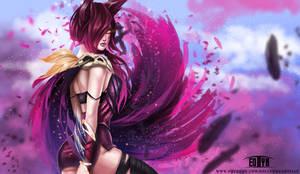 League of Legends - Xayah (NSFW optional)