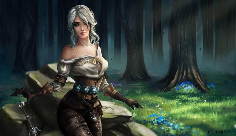 The Witcher III - Ciri (Reworked)