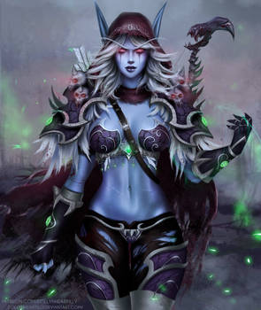 WoW - Sylvanas (updated with speedpaint video) by eollynart